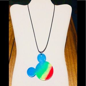 Jewelry - Handmade Autism Awareness colored pendant